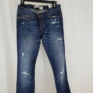 ABECROMBIE AND FITCH Jeans- Low Rise, Boot Cut